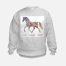 Rainbow horse gift Sweatshirt