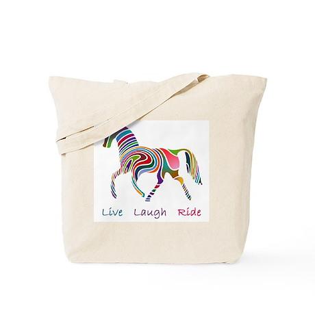 Rainbow horse gift Tote Bag