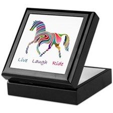 Rainbow horse gift Keepsake Box