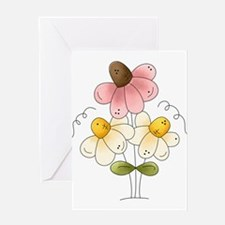 Pretty Daisies Greeting Card