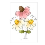 Pretty Daisies Postcards (Package of 8)