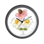 Pretty Daisies Wall Clock