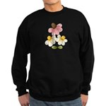 Pretty Daisies Sweatshirt (dark)