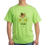 Pretty Daisies Green T-Shirt
