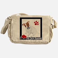 I Heart My JRT Messenger Bag