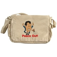 President Nixon and JRT Peace Messenger Bag