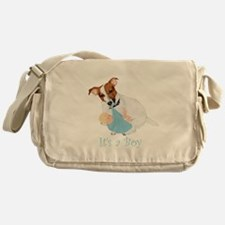 Jack Russell, It's A Boy Gifts Messenger Bag