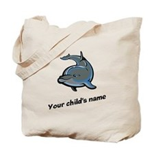 Dolphin Personalized Tote Bag