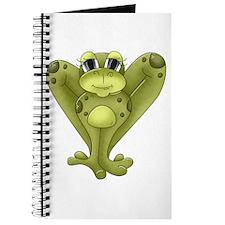 Whimsical Frog Journal