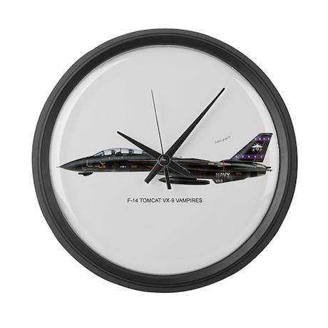 VX-9 Vapmires Large Wall Clock