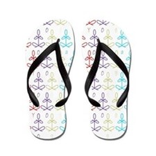 Cool Yoga instructor Flip Flops