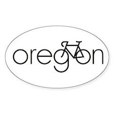 Bike Oregon Decal