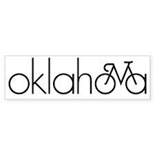Bike Oklahoma Bumper Sticker