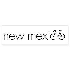 Bike New Mexico Bumper Sticker