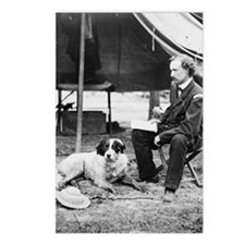 George A. Custer with Dog