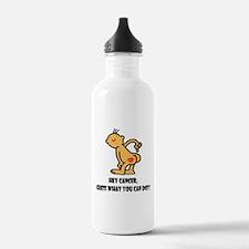 Take No Prisoners Breast Canc Sports Water Bottle