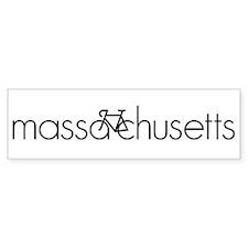 Bike Massachusetts Car Sticker