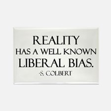 Reality, a Liberal Bias Rectangle Magnet