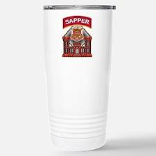 US Army Sapper Combat Enginee Travel Mug