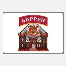 US Army Sapper Combat Enginee Banner