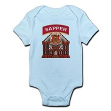 US Army Sapper Combat Enginee Infant Bodysuit