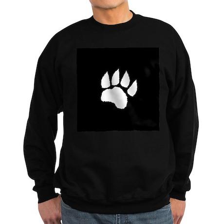 Black Paw Sweatshirt (dark)