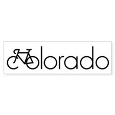 Bike Colorado Bumper Sticker