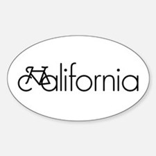 Bike California Decal