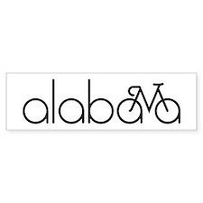 Bike Alabama Car Sticker