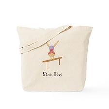 gymnast on beam Tote Bag
