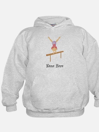 gymnast on beam Hoodie
