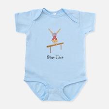 gymnast on beam Infant Bodysuit