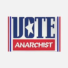 VOTE anarchist Rectangle Magnet