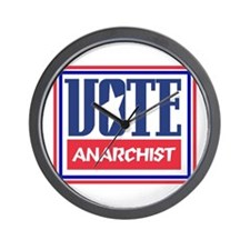 VOTE anarchist Wall Clock