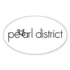 Bike the Pearl District Decal