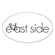 Bike Portland's East Side Decal