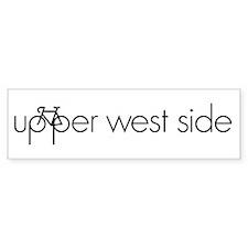 Bike the Upper West Side Bumper Sticker