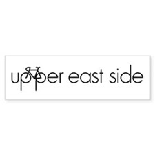 Bike the Upper East Side Bumper Sticker
