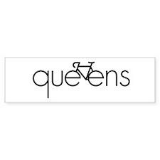 Bike Queens Bumper Sticker
