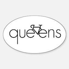 Bike Queens Sticker (Oval)