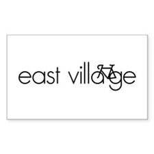 Bike the East Village Decal