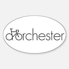 Bike Dorchester Decal