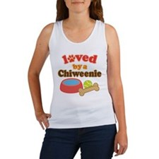 Chiweenie Dog Gift Women's Tank Top
