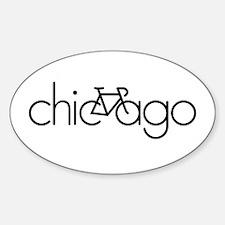 Bike Chicago Decal