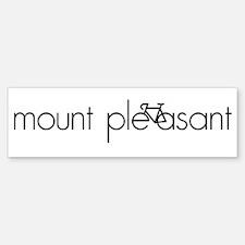 Bike Mount Pleasant Bumper Bumper Sticker