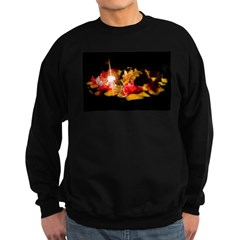 Illuminated Flowers Sweatshirt