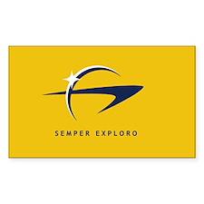 Starfleet Flag Sticker (10 pk)