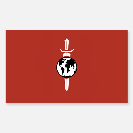 Mirror Universe Flag Decal
