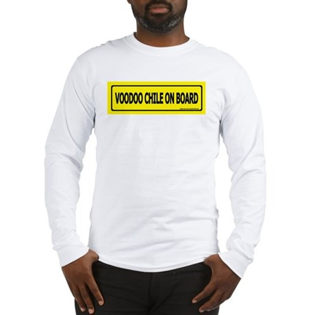 Voodoo Chile on Board Long Sleeve T-Shirt