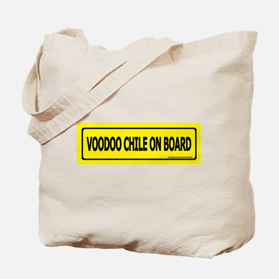 Voodoo Chile on Board Tote Bag